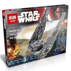 LEPIN 05006 Xếp hình kiểu Lego STAR WARS Kylo Ren's Command Shuttle Kello Lun's Command Shuttle Phi Thuyền Chỉ Huy 1005 khối