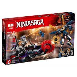 Lepin 06077 Sheng Yuan 1003 Lele 31120 Bela 10805 (NOT Lego Ninjago Movie 70642 Killow Vs. Samurai X ) Xếp hình Cuộc Chiến Giữa Killow Và Samurai X 663 khối