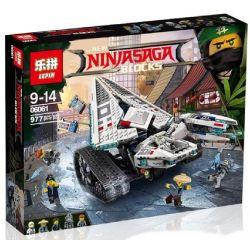 Bela 10726 Lari 10726 LELE 31080 LEPIN 06061 SHENG YUAN SY SY958 Xếp hình kiểu THE LEGO NINJAGO MOVIE Ice Tank Xe Tăng Băng Giá 914 khối