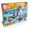 Bela 10356 Lepin 04023 (NOT Lego Legends of Chima 70226 Mammoth's Frozen Stronghold ) Xếp hình Pháo Đài Băng Của Mammoth 621 khối