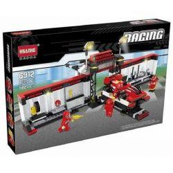 HSANHE 6912 Xếp hình kiểu Lego SPEED CHAMPIONS Pit Stop Trạm sửa chữa xe đua 582 khối