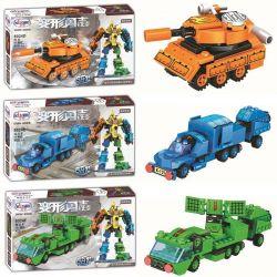 WINNER JEMLOU 8024 8024A 8024B 8024C 8024D 8024E 8024F Xếp hình kiểu Lego TRANSFORMERS Deformation Warriors Tie Bun Strong War God Warrior 6 6 In 1 Phương Tiện Kết Hợp Thành Siêu Robot Teken gồm 6 hộp