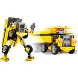 Kazi KY8019 8019 Xếp hình kiểu Lego TRANSFORMERS Robot Transforms Trucks Robot Biến Hình Xe ô Tô Tải 289 khối