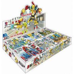 LE DI PIN 18004 Xếp hình kiểu Lego CREATOR 3 IN 1 Mech Warrior Chiến binh Mech 630 khối