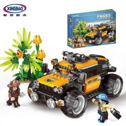 XINGBAO XB-15002 15002 XB15002 Xếp hình kiểu Lego FOREST ADVENTURE Jungle Adventure Explore The Jungle Cuộc Phiêu Lưu Khám Phá Rừng Nhiệt đới 525 khối