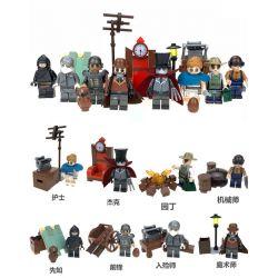 LELE 39172 39172-1 39172-2 39172-3 39172-4 39172-5 39172-6 39172-7 39172-8 Xếp hình kiểu Lego IDENTITY V 5th Person 8 Nhân Vật Trong Game Identity V gồm 8 hộp nhỏ