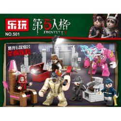 Lewan 501 (NOT Lego Identity V ) Xếp hình Các Nhân Vật 246 khối