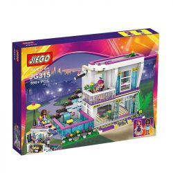 NOT Lego FRIENDS 41135 Livi's Pop Star House, Bela 10498 Lari 10498 DARGO 1040 DIZUAN 9985 JIEGO JG315 LELE 37035 LEPIN 01046 LEZI 97018 SHENG YUAN SY 580 SY580 SX 3008 Xếp hình Căn Nhà Của Ngôi Sao N