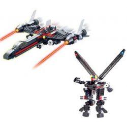 Kazi KY8021 8021 Xếp hình kiểu Lego TRANSFORMERS Robot Transform Spaceship Robot Biến Hình Phi Thuyền 246 khối
