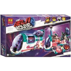 LARI 11251 LEPIN 45007 Xếp hình kiểu THE LEGO MOVIE 2 THE SECOND PART Pop-Up Party Bus Le High Movie 2 Dreams That Will Deform On The Bus Bữa Tiệc Xe Buýt 1024 khối