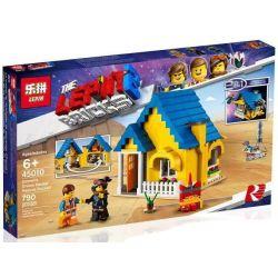 LARI 11250 LEPIN 45010 Xếp hình kiểu THE LEGO MOVIE 2 THE SECOND PART Emmet's Dream House Rescue Rocket! Lego Movie 2 Emyte's Dream Flying House And Rescue Rocket Ngôi Nhà ước Mơ Của Emmet's 706 khối