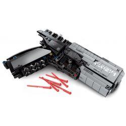 SEMBO 704301 Xếp hình kiểu Lego THE WANDERING EARTH Signal Gun Súng Phát Tín Hiệu Trong Lưu Lạc địa Cầu 431 khối