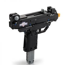 Doublee Cada C81008 C81008W Lego Technic Block Gun Mini Uzi Xếp hình Súng Tiểu Liên Uzi Thu Nhỏ 359 khối