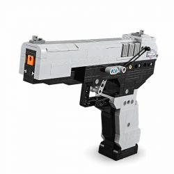 Doublee Cada C81009 C81009W Lego Technic Block Gun Block Gun Xếp hình Súng Ngắn M23 412 khối