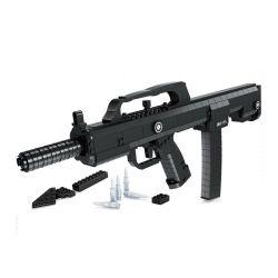 Ausini 22805 (NOT Lego Block Gun Automatic Rifle Qbz ) Xếp hình Súng Trường Tự Động Qbz 493 khối