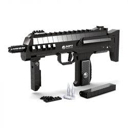 AUSINI 22608 Xếp hình kiểu Lego BLOCK GUN Submachine Gun MP7 Súng tiểu liên mp7 508 khối