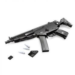 AUSINI 22705 Xếp hình kiểu Lego BLOCK GUN Submachine Gun MP5 Súng tiểu liên MP5 597 khối