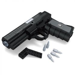 AUSINI 22514 Xếp hình kiểu Lego BLOCK GUN Qsz92 Pistol Súng Lục QSZ92 327 khối