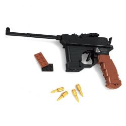 AUSINI 22420 Xếp hình kiểu Lego BLOCK GUN Mauser Gun M1898 Súng ngắn M1898 145 khối