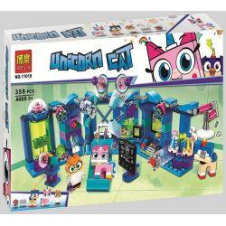 Bela 11018 (NOT Lego Unikitty 41454 Dr. Fox Laboratory ) Xếp hình Phòng Nghiên Cứu Của Dr. Fox 359 khối