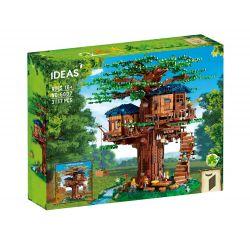 BLANK 00001 20012 PG-S001 S001 PGS001 S7304 7304 KUPAI 99019 LARI 11364 LION KING 180153 SX 6007 Xếp hình kiểu Lego IDEAS Tree House Ngôi Nhà Trên Cây 3036 khối