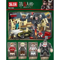 Lewan 502 (NOT Lego Identity V Lakeview Village ) Xếp hình Sinh Tồn Tại Xưởng Gỗ lắp được 4 mẫu 321 khối