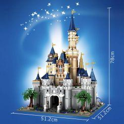 MOULDKING 13132 Xếp hình kiểu Lego PARADISE Paradise lâu đài disney 8388 khối