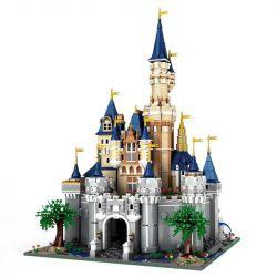 MOULDKING 13132 Xếp hình kiểu Lego PARADISE Yuxing Paradise - Castle Lâu đài Disney 8388 khối