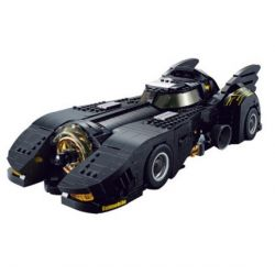 Decool 7144 Jisi 7144 REBRICKABLE MOC-15506 15506 MOC15506 Xếp hình kiểu Lego CREATOR The Ultimate Batmobile! Ultimate Bat! Chiếc Xe Chiến đấu Của Batman 1740 khối