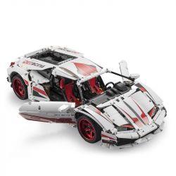 DOUBLEE CADA C41011 41011 C61018 61018 Xếp hình kiểu Lego TECHNIC Lamborghini Huracan LP 610 Super-Car Lamborghini HURACAN LP 610 Super Sports Car Siêu Xe Huracan LP 610 gồm 2 hộp nhỏ 1696 khối điều k
