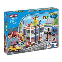 Oxford ST33322 (NOT Lego City Toy Shop ) Xếp hình Cửa Hàng Đồ Chơi 1510 khối