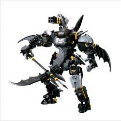 Decool 7143 Jisi 7143 Xếp hình kiểu Lego SUPER HEROES Super Heroes Bat Mech Batman Machine Người Máy Của Người Dơi 1181 khối