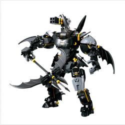 Decool 7143 (NOT Lego DC Comics Super Heroes Robot Of Batman ) Xếp hình Người Máy Của Người Dơi 1181 khối