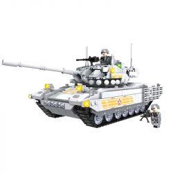 WOMA C0124 0124 Xếp hình kiểu Lego TANK BATTLE T-14 Armata Quân đội T-14 1066 khối