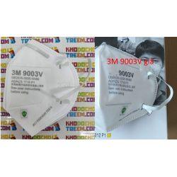 Khẩu trang trẻ em 3M 9003V KN90 lọc hơn 90% bụi siêu mịn PM2.5 có van thở