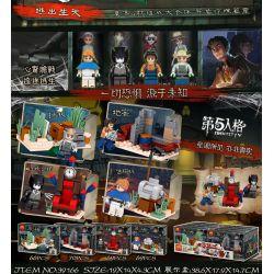 Lele 39166 (NOT Lego Identity V Identity V ) Xếp hình gồm 4 hộp nhỏ 274 khối