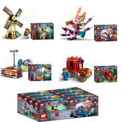 Le Yile 2301 Xếp hình kiểu LEGO Identity V chair machine carriage children công cụ bắt giữ 410 khối