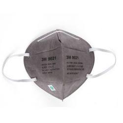 Khẩu trang 3M 9021 KN90 lọc hơn 90% bụi siêu mịn PM2.5 chính hãng màu xám không có lớp than hoạt tính