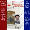 Khẩu trang 3M 9071 KN90 lọc hơn 90% hơi độc bụi siêu mịn PM2.5 có màng than hoạt tính chính hãng mới hơn 3M 9041 toàn đồ giả