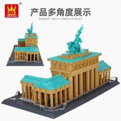DR.LUCK 6211 WANGE 6211 Xếp hình kiểu Lego CREATOR Brandenburgertor Cổng Brandenburg, Berlin, Đức 1552 khối