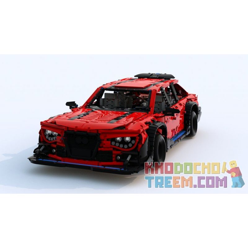 REBRICKABLE MOC-13374 13374 MOC13374 Xếp hình kiểu Lego TECHNIC Audi RS6 DTM 4973 khối