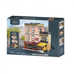URGE UG-10180 10180 UG10180 Xếp hình kiểu Lego CREATOR The Doughnut Shop Cửa hàng bánh 3255 khối