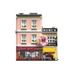 URGE UG-10180 10180 UG10180 Xếp hình kiểu Lego CREATOR The Doughnut Shop Street View Donut Shop Cửa Hàng Bánh 3255 khối