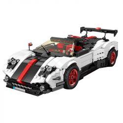 MOULDKING 13105 RASTAR 98200 REBRICKABLE MOC-22208 22208 MOC22208 Xếp hình kiểu Lego CREATIVE IDEA Creaative Idea Pagani Zonda Cinque Roadster Creativity Parii Zonda Cinque Roadster 1 16 960 khối
