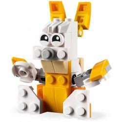 NOT Lego CREATOR 30571 Pelican, CAYI 5500A XINH 5500A Xếp hình Bồ nông 62 khối
