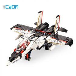 DOUBLEE CADA C51030 51030 Xếp hình kiểu Lego TRANSFORMERS F-15 Eaglebot Deformation Robot Red Spider, F-15 Falcon Fighter Starscream, Tiêm Kích F-15 Falcon 917 khối