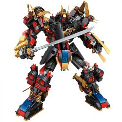 Enlighten 3105 3105-1 3105-2 3105-3 3105-4 3105-5 3105-6 Qman 3105 3105-1 3105-2 3105-3 3105-4 3105-5 3105-6 Xếp hình kiểu Lego TRANSFORMERS TransCollector Supercoming Star Wushen 6 In Front Of The 1s