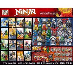 61019 (NOT Lego Ninjago Movie Ninja ) Xếp hình Bộ Sưu Tập Ninja Hình 16 Mô Hình 32 Con Số Hình