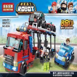 LELE BROTHER 8539 Xếp hình kiểu Lego TRANSFORMERS Robot Speed warrior 8 In 1 Change Big Truck Sản Phẩm 8 Trong 1 Trở Thành Xe Tải Lớn lắp được 8 mẫu 886 khối