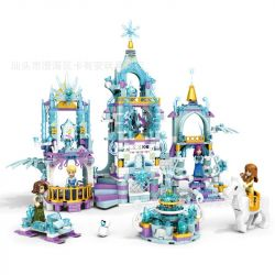 HEIMA 8060 Xếp hình kiểu Lego FROZEN Frozen Castle Lâu đài băng giá